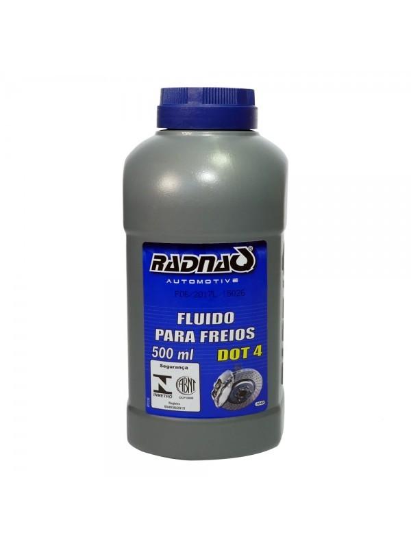 Fluido de Freio Dot 4 Radnaq 500ML
