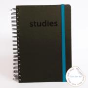Caderno Studies To Go Blue