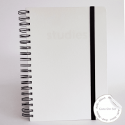 Caderno Studies To Go White