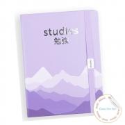 Mini Studies Silver Purple