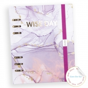 Wise Day Mármore Roxo