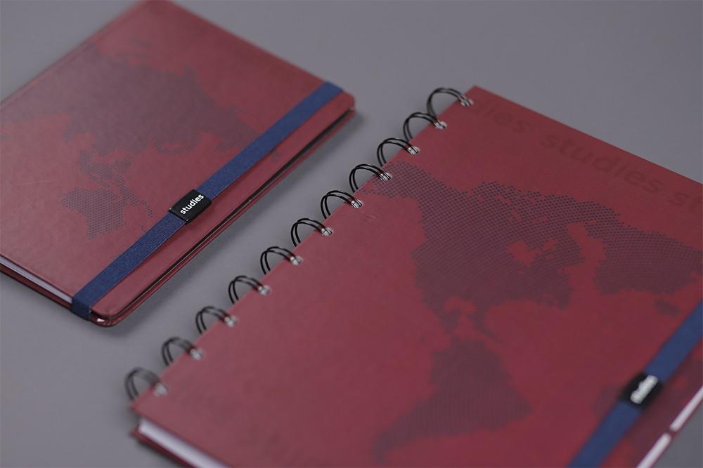 Caderno Studies Pro Map