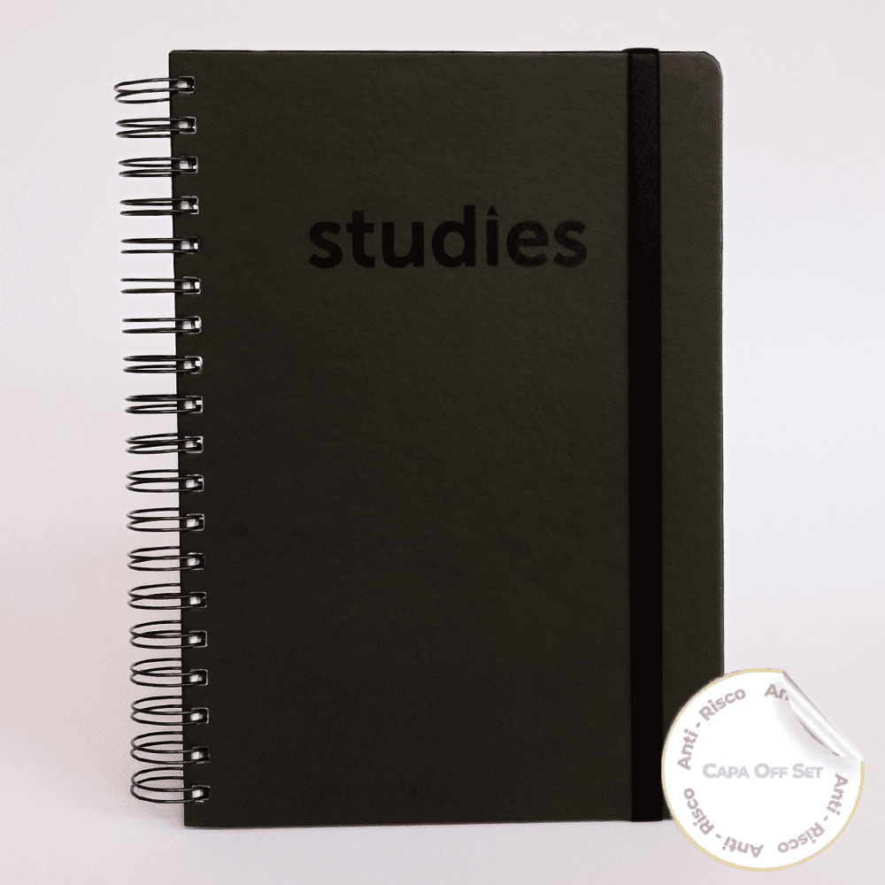 Caderno Studies To Go Black