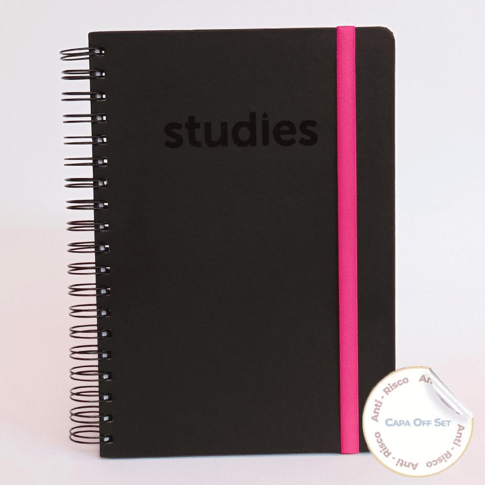 Caderno Studies To Go Pink