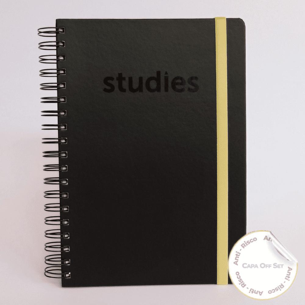 Caderno Studies To Go Yellow
