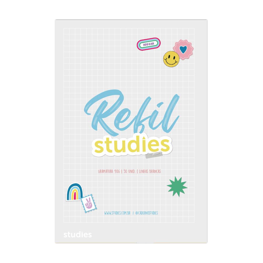 Mini Refil Studies Quadriculado