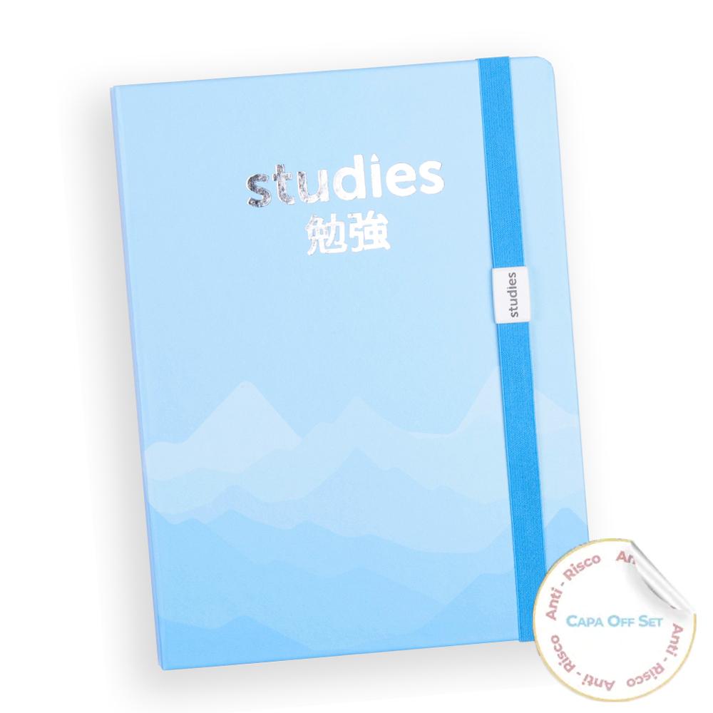 Mini Studies Silver Blue