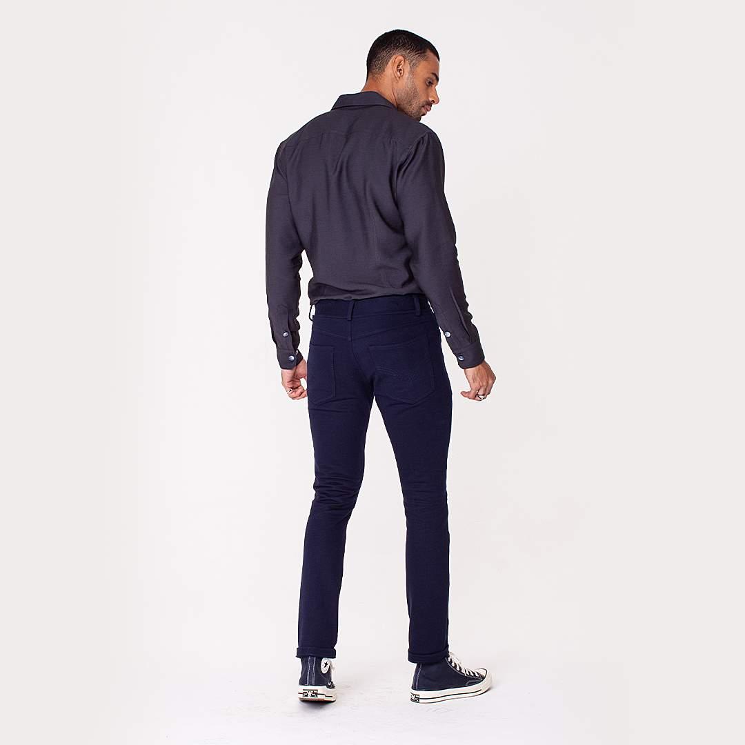 Calça Jeans Moletom