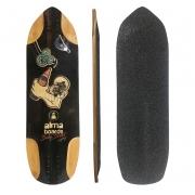 "Shape Longboard Alma Baby Bullet - 100% bambu 30"""