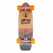 "Skate Simulador de Surf Alma boards 31"" - Bambu"