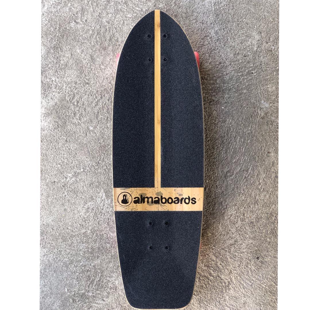 """Skate Simulador de Surf Alma boards 31"""""""