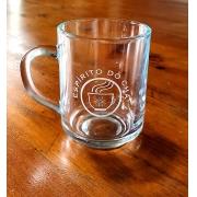 Caneca de vidro Samba - 245ml - com personalização
