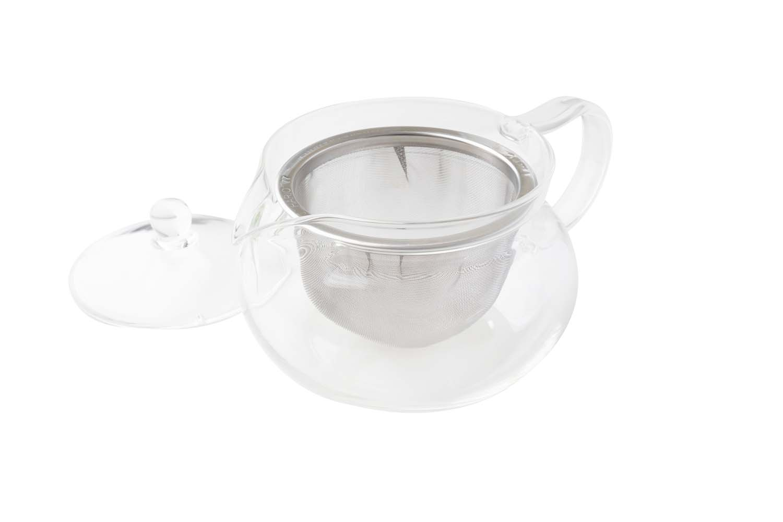 Bule de vidro com infusor 450ml