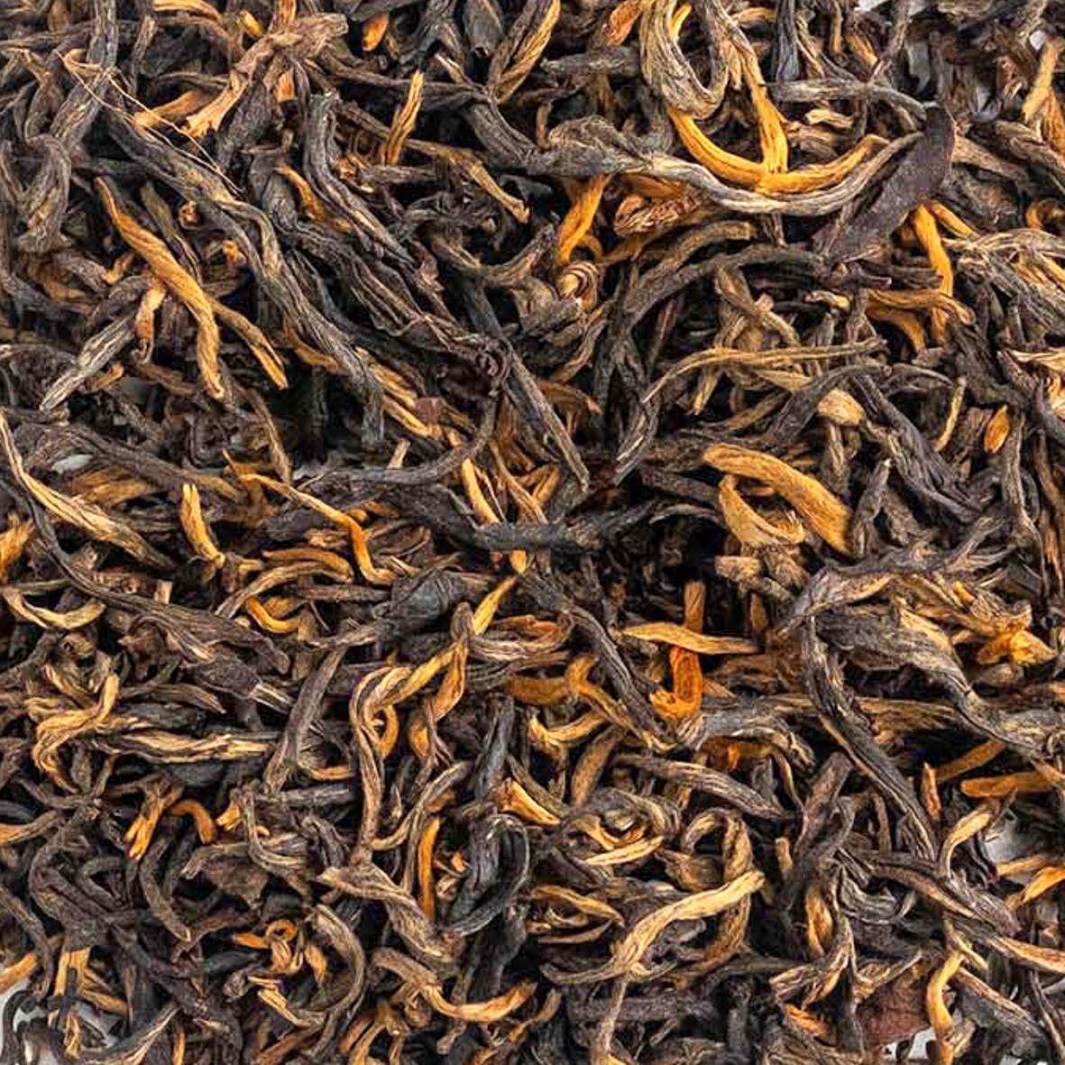 Chá Preto Orgânico Golden Yunnan Superior