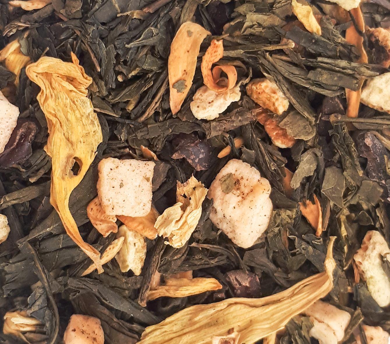 Chá Verde Sonhar no Lago das Fadas