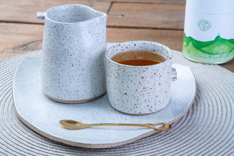 Prato de cerâmica Humaitá