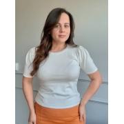 Blusa Basic Comfy Premium Off-White
