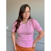 Blusa Comfy Premium Rosa Bebe