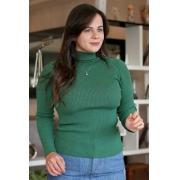 Blusa Cacharrel Canelada Unique Verde