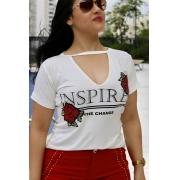 Blusa Inspired Rosas Villon
