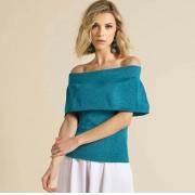 Blusa Shine Ombro a Ombro (+ CORES)