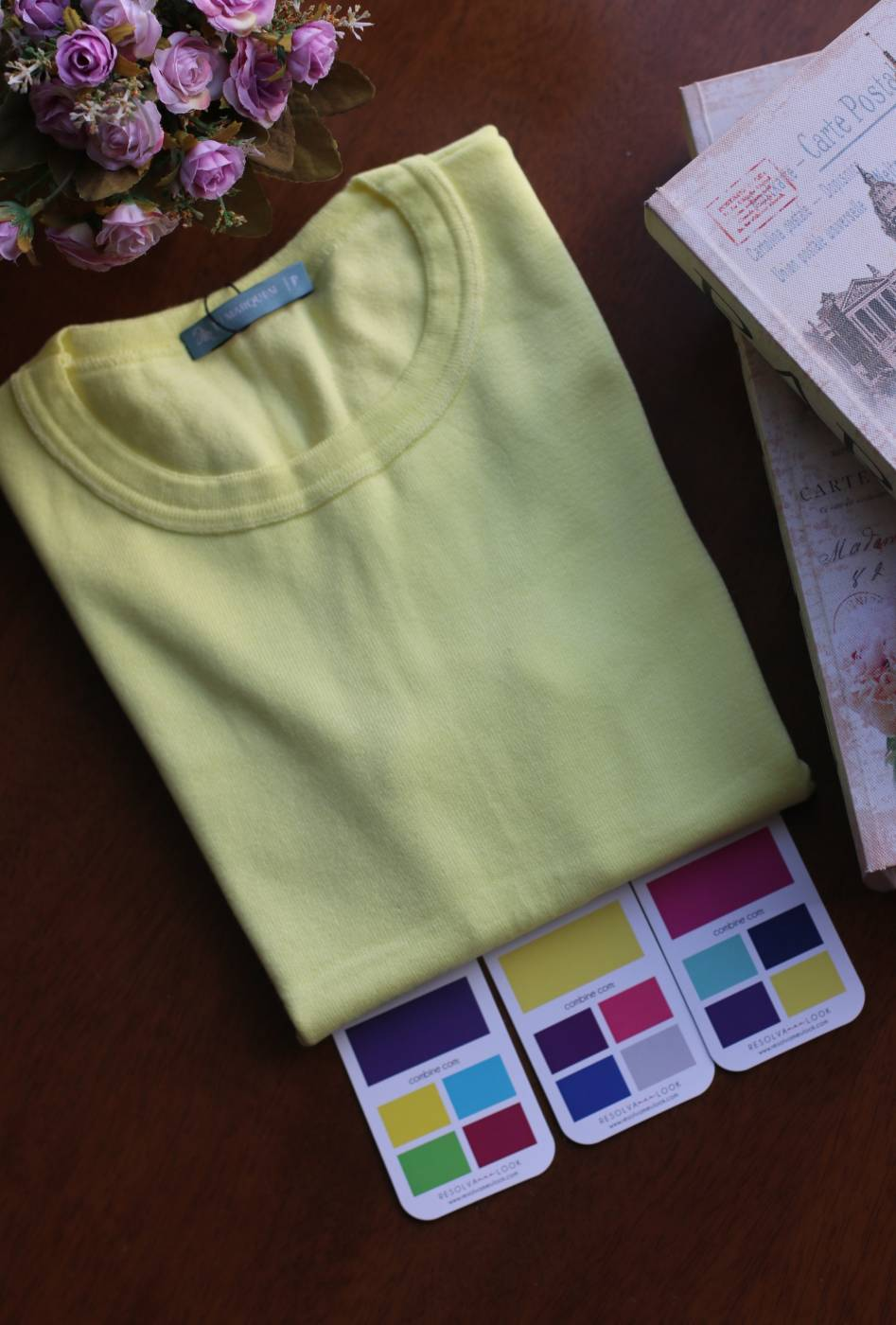 Blusa Basic Comfy Amarelo
