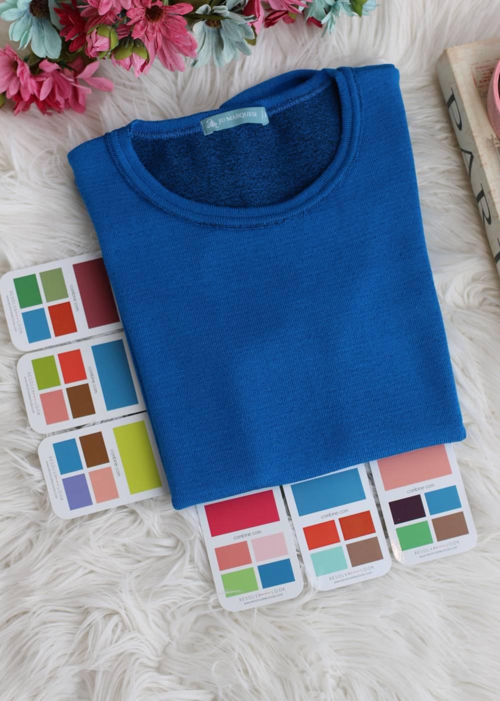 Blusa Comfy Premium Azul Clássico