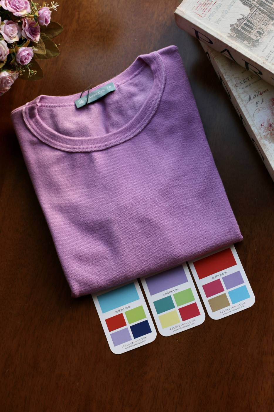 Blusa Basic Comfy Violeta