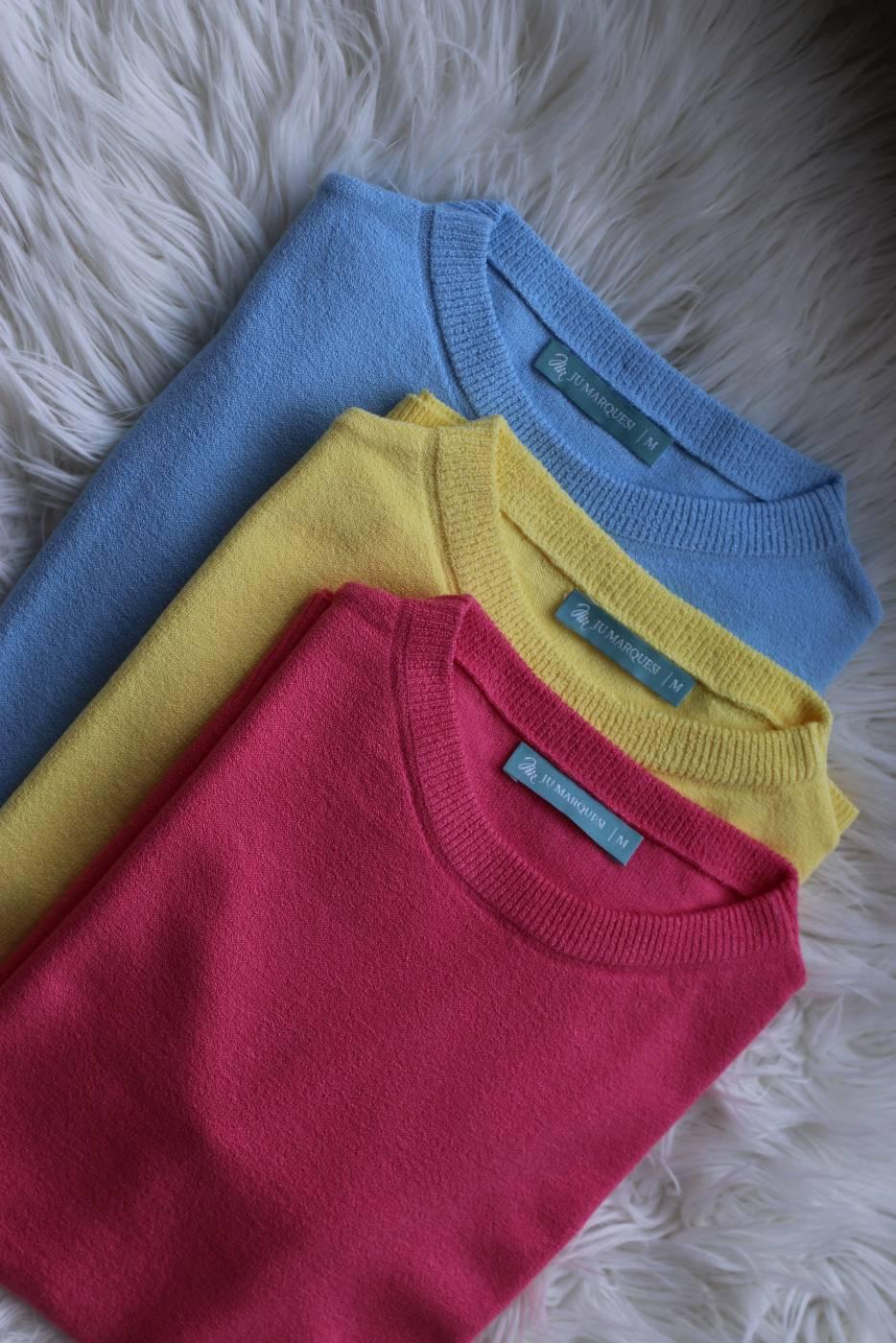 Blusa Basic Essencial Amarelo