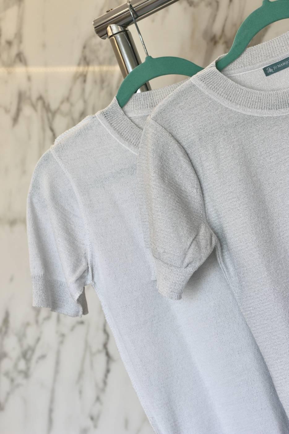 Blusa Basic Shine Branco