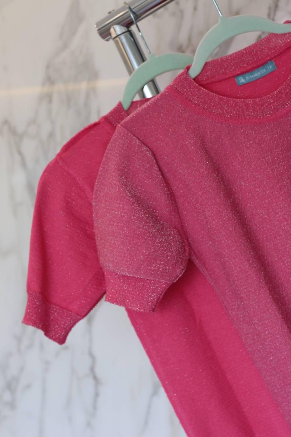 Blusa Basic Shine Pink