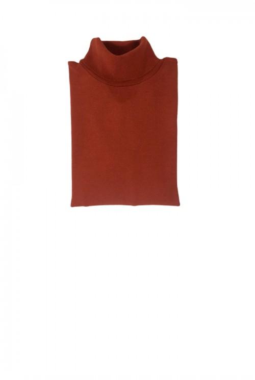 Blusa Cacharrel Basic Lisa Terracota