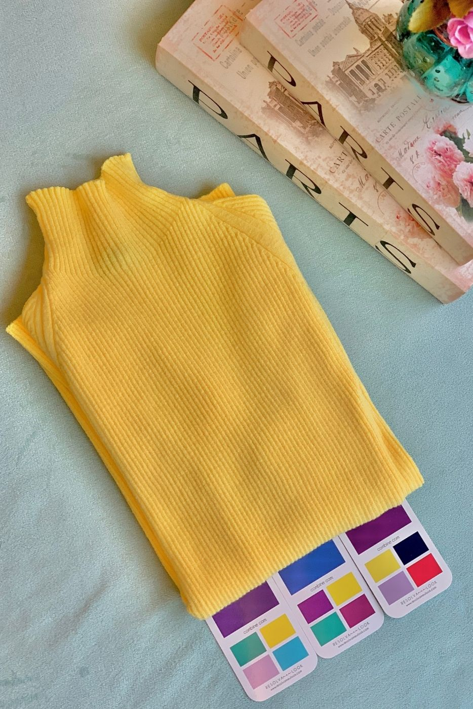 Blusa Cacharrel Canelada Unique Amarelo