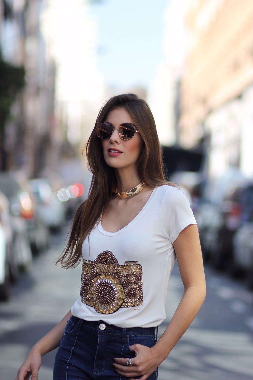 Blusa Camera Fashion Villon