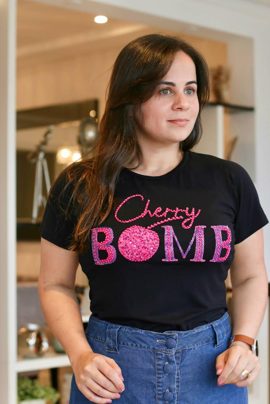 Blusa Cherry Villon