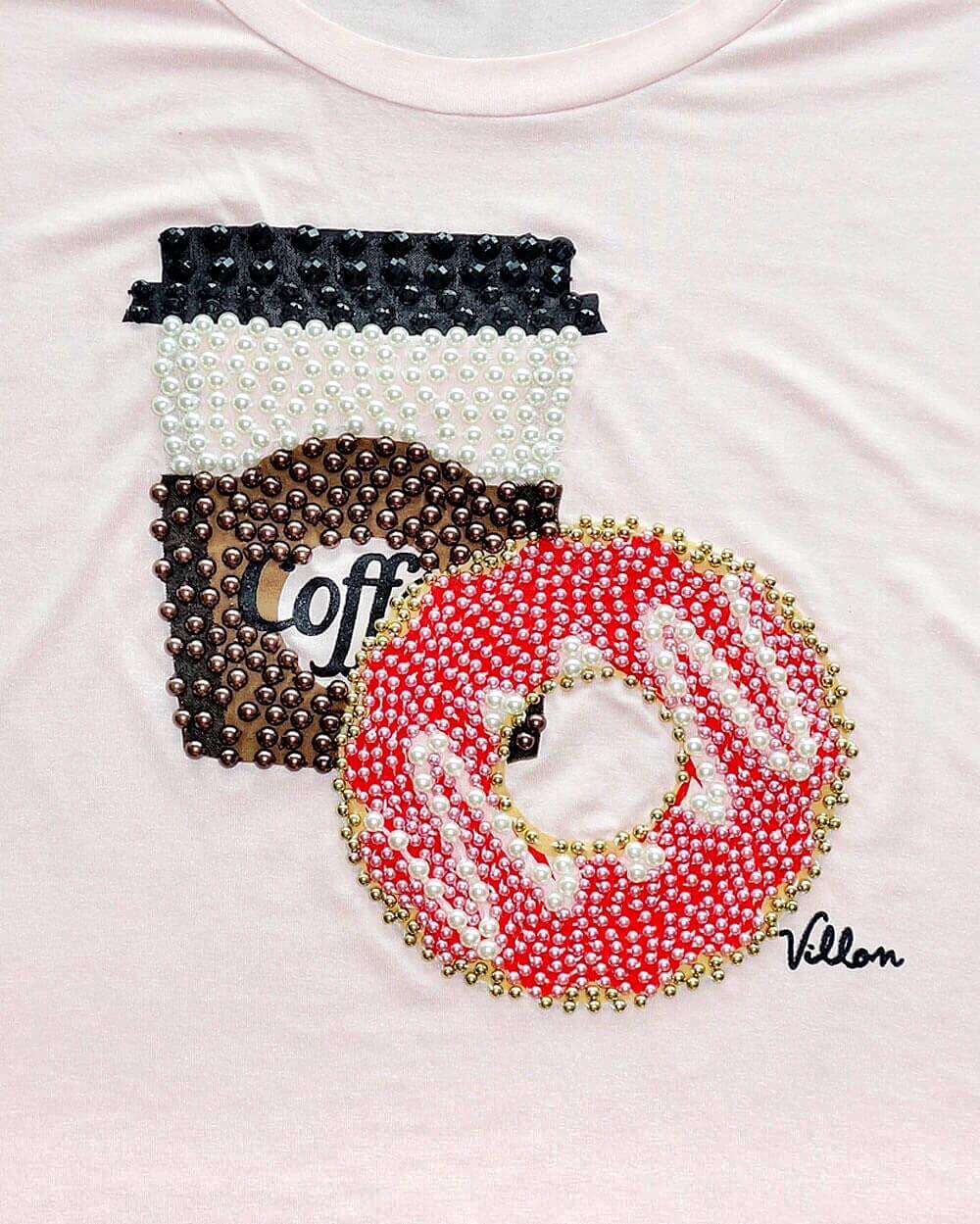 Blusa Coffee Donuts Villon