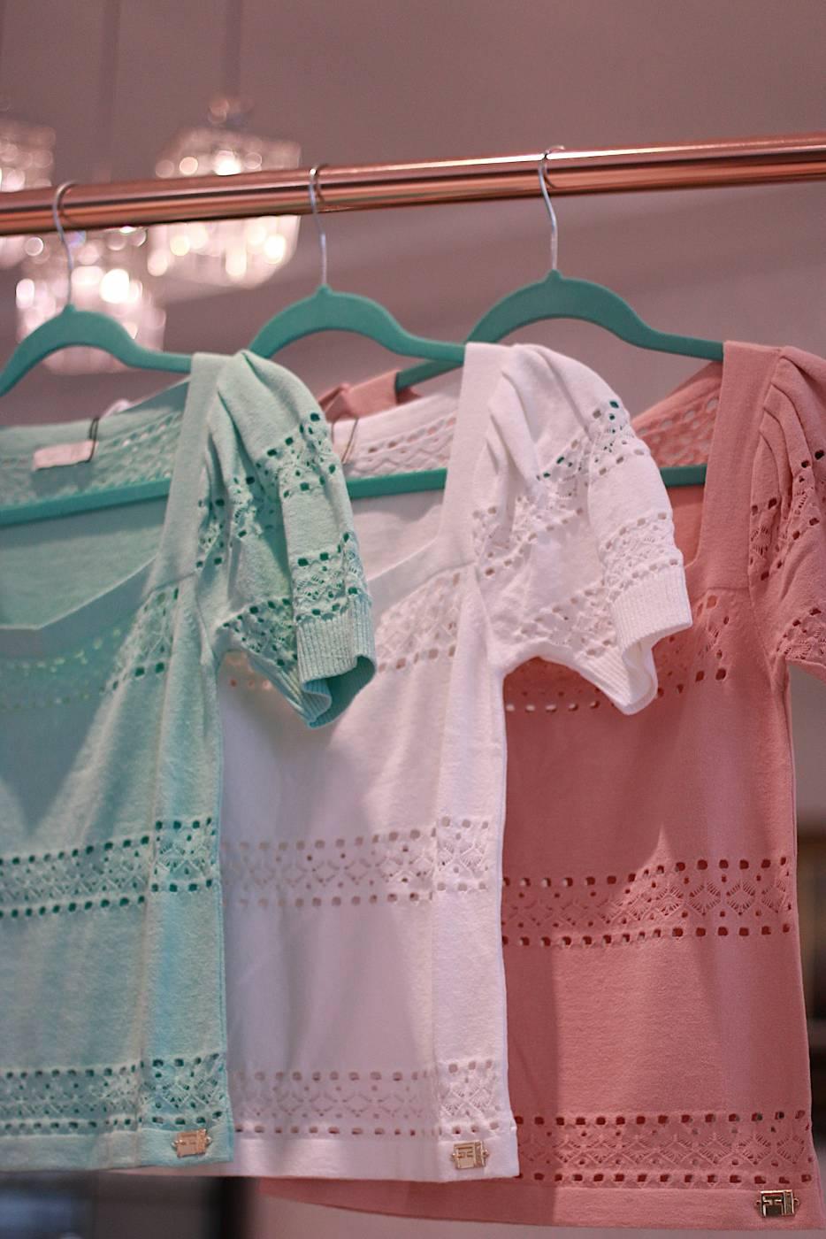 Blusa  Decote Quadrado Tania
