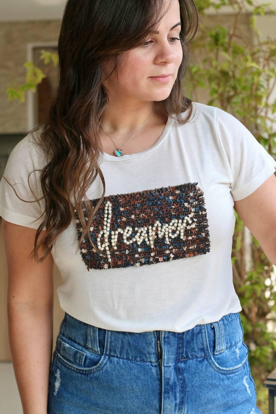 Blusa Dreamer Tweed Villon