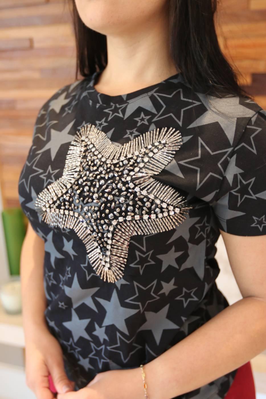 Blusa Estrela Villon