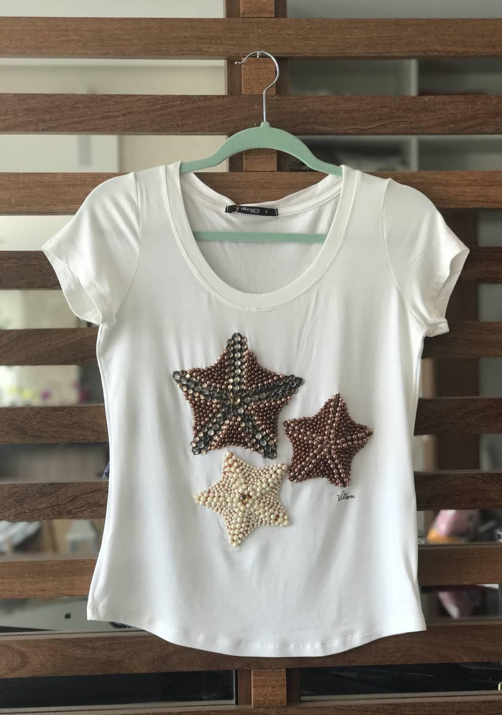 Blusa Estrelas do Mar Villon