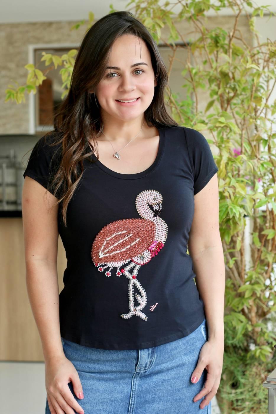 Blusa Flamingo Villon