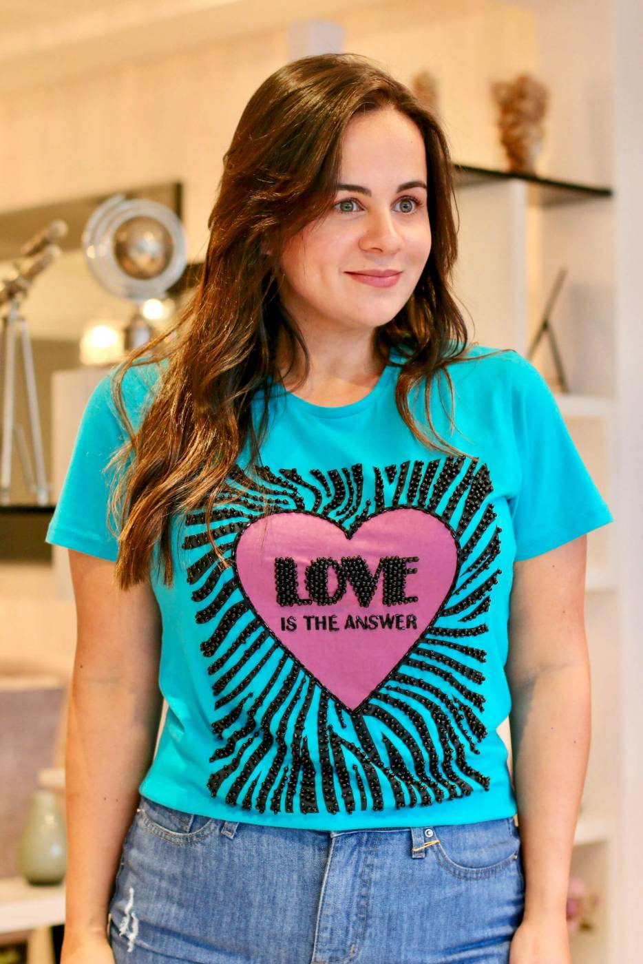 Blusa Love Villon