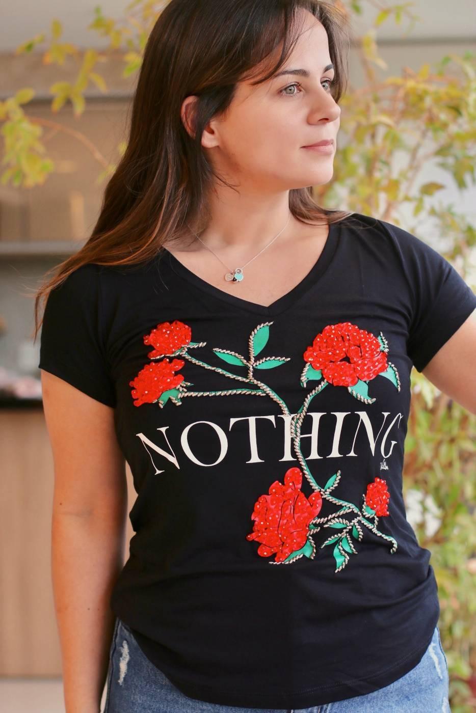 Blusa Nothing Rosas