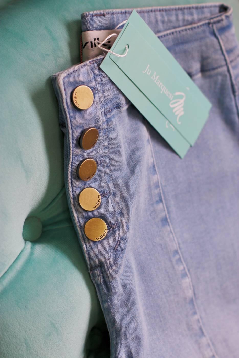 Calça Jeans Skinny Clara Villon