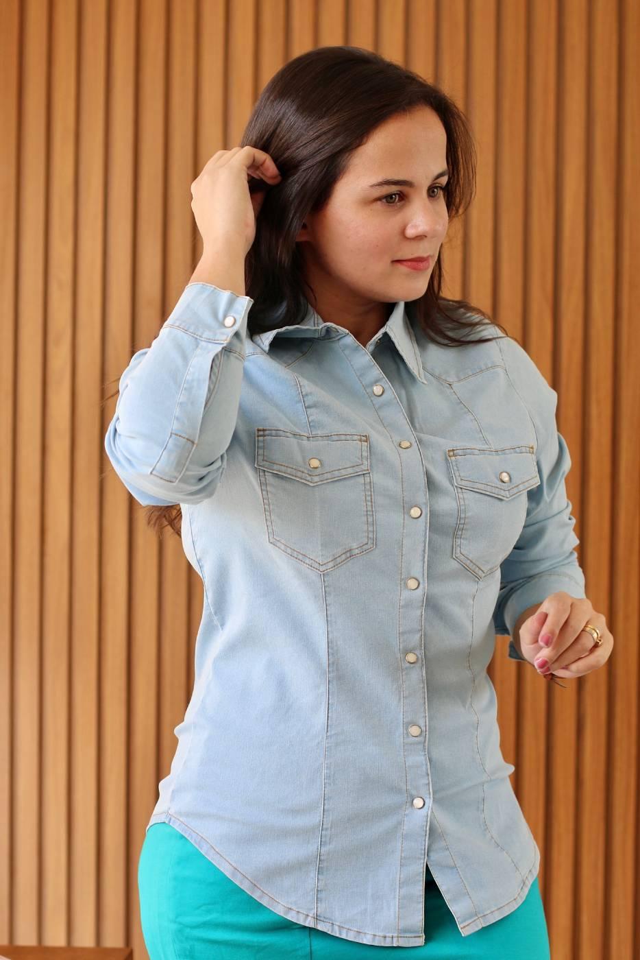 Camisa Jeans Basic Villon