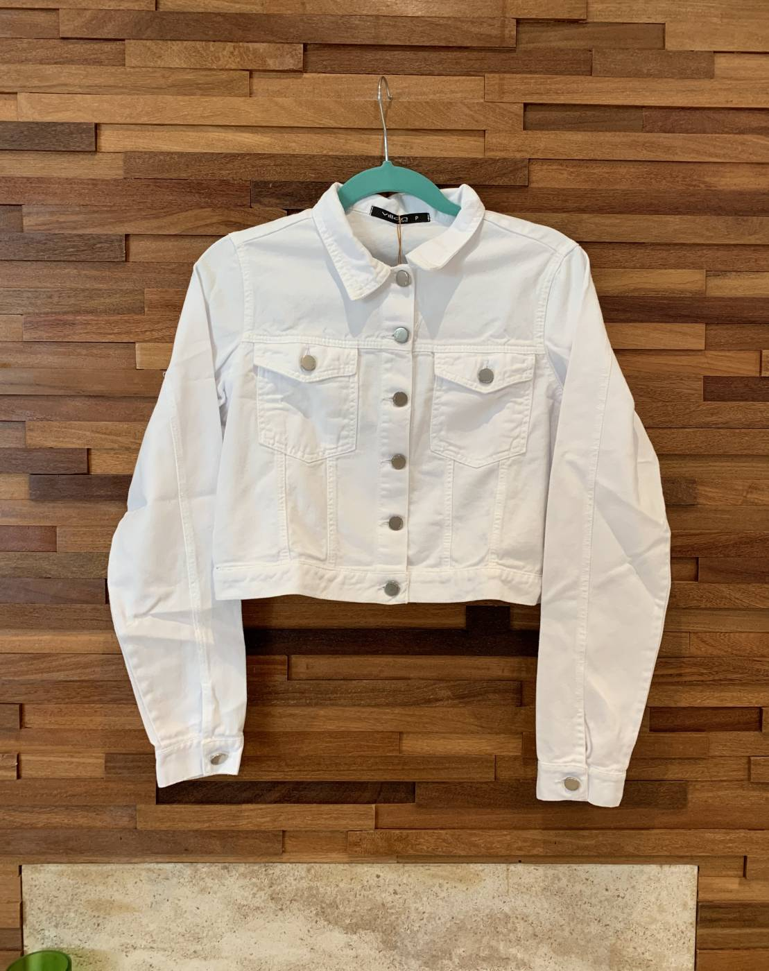 Jaqueta Branca Basic Villon