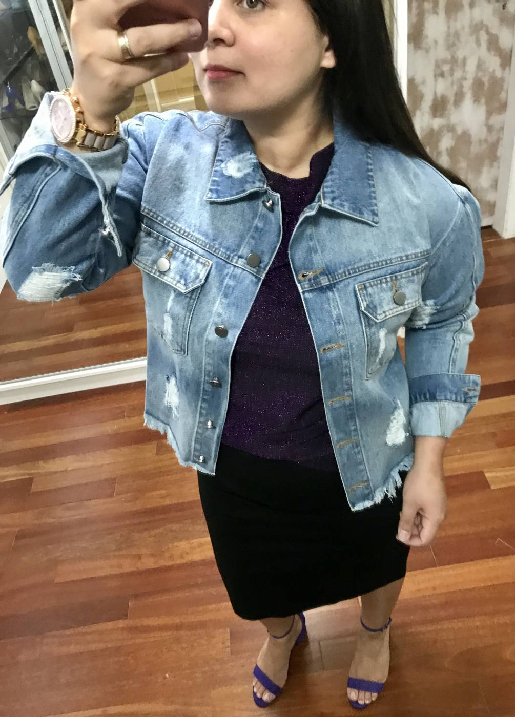 Jaqueta Jeans Basic Villon