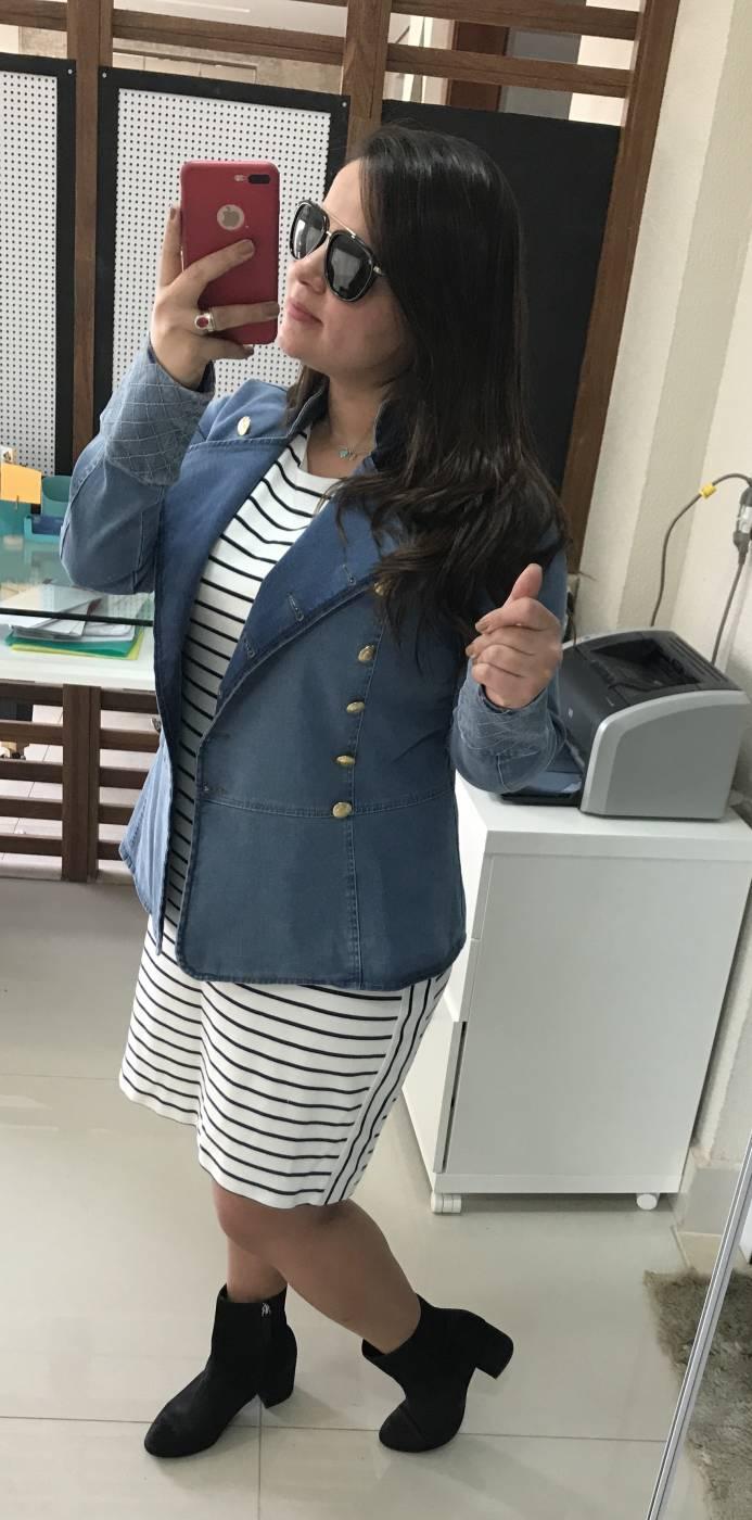 Jaqueta Jeans Botões Villon