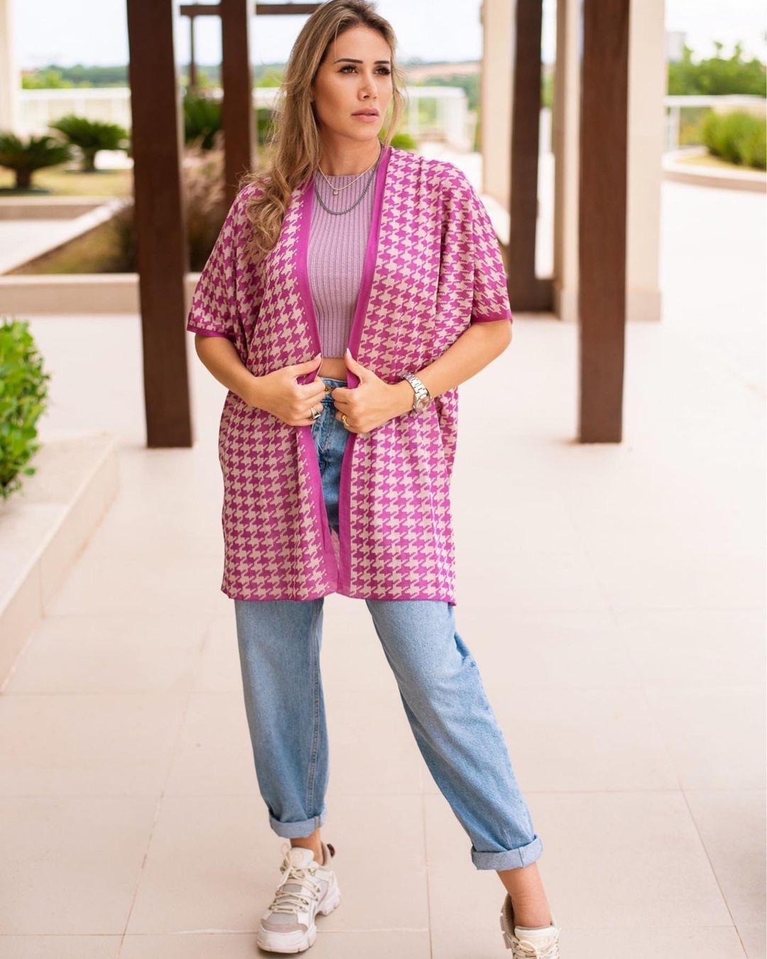 Kimono Pied de Poule