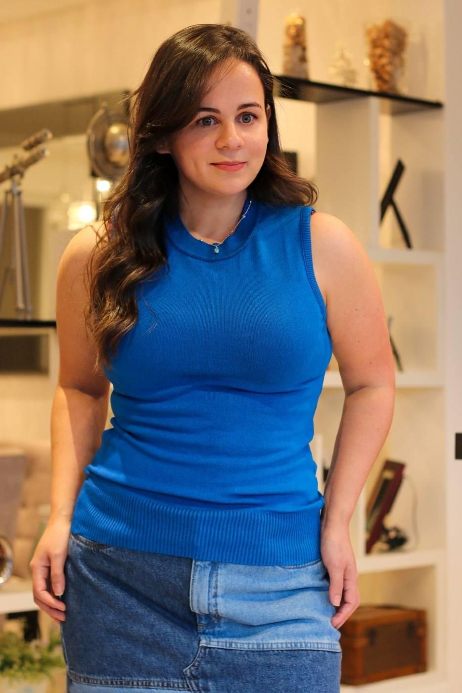 Regata Lisa Comfy Azul